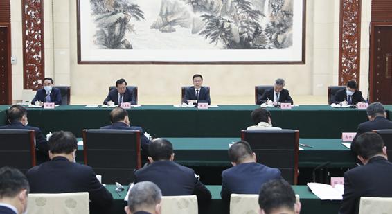 韩正在广州主持召开粤港澳大湾区建设领导小组会议
