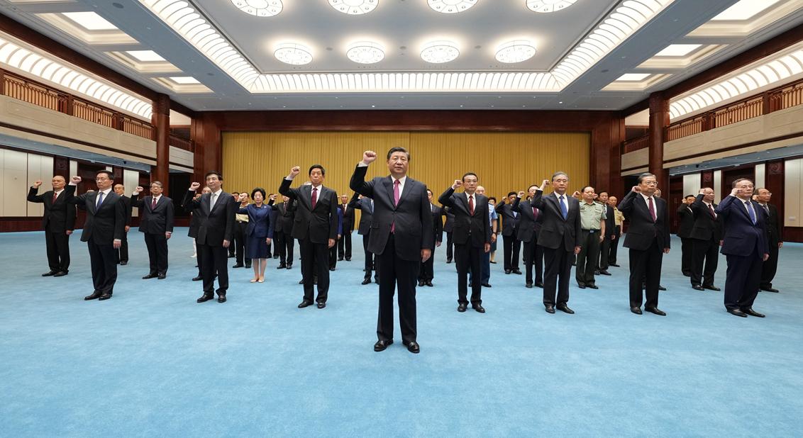 习近平:铭记奋斗历程担当历史使命 从党的奋斗历史中汲取前进力量